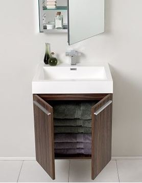 Picture of Elegant Bathroom Vanity with 575 mm length, 2 doors, ref KCA575D.