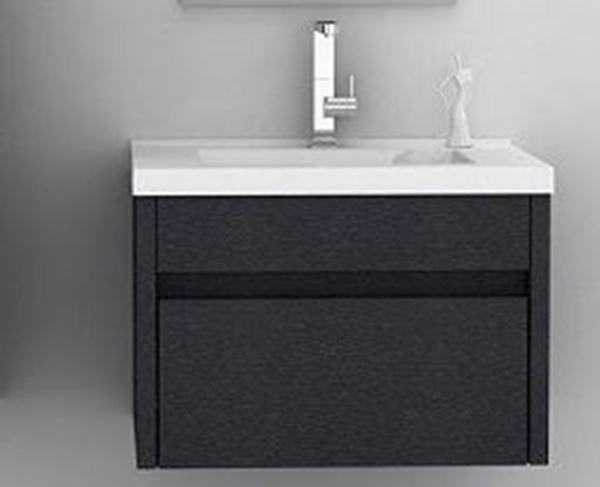 Picture of New design vanity 760 mm L, 1 drawer, ref KGA760.