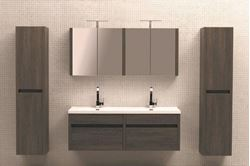 Picture of Luxurious Double Vanities 1500 mm  length,  2 soft closing drawers, ref KG2DRW1500O.
