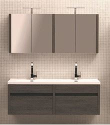 Picture of Luxurious Double Vanities 1500 mm  length,  2 soft closing drawers, ref KG2DRW1500.