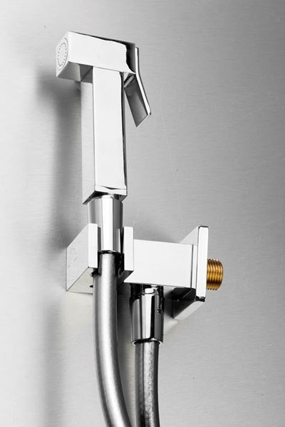 Picture of Gio square Trigger Spray SET  Brass  chrome plated