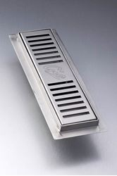 Picture of 250 mm  long Stainless steel shower channel perforated grid