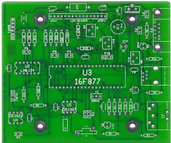 Picture of Board gate motor PCB ELITE 600 (150W MOTOR)