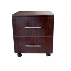 Picture of Pedestal cabinet mahogany 2 drawers 400x350x450