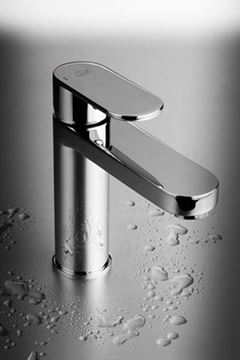 Picture of Genova Oval handle BASIN mixer