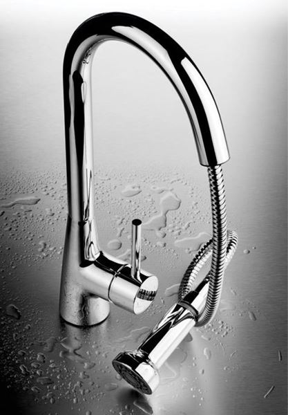 Picture of Round PULL-OUT KITCHEN mixer