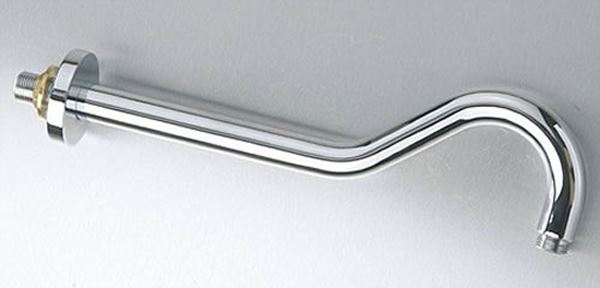 Picture of Curved Shower Arm 300 mm x 24 mm brass chrome plated