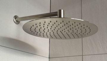 Picture of Stainless Steel Round Slim shower head 200 mm diameter