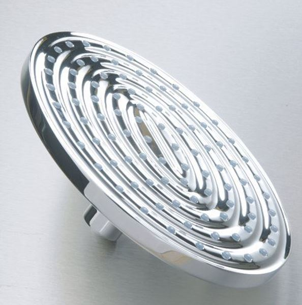 Picture of Brass Ellipse shower head chrome plated