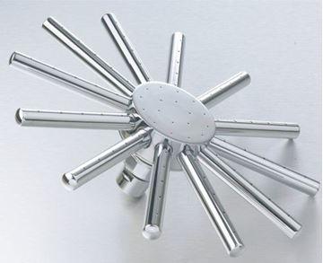 Picture of Brass Spider shower head  230 mm Diameter