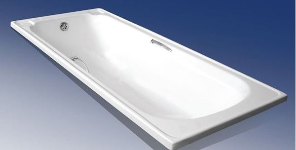 Picture of 1700 length x 700 mm W TONNY build in Rectangular Acrylic bath