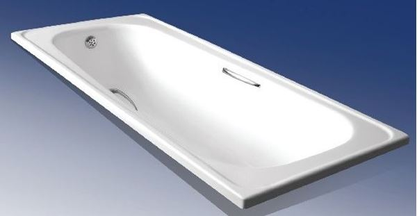 Picture of PAMELA Rectangular Acrylic bath, 1700 L x 750 mm W
