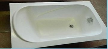 Picture of Compact Acrylic bath, 1200 mm x 700 mm