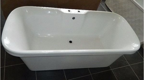 Picture of RAFAEL  free standing acrylic bath, 1800  x 900, SA manufacturer