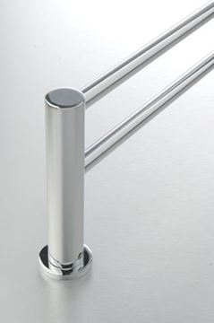 Picture of Demola DOUBLE Towel RAIL 760 mm length