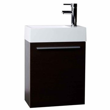 Picture of Export - Compact bathroom cabinet / vanity 460 mm length, 1 door, ref KG1D460