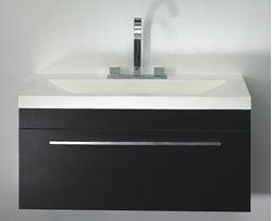 Picture of Export - Elegant  bathroom cabinet / vanity 895 x475 x 440 mm H, 1  drawer, ref KC1DRW895.