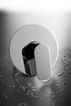 Picture of Genova oval handle Concealed SHOWER and BATH mixer