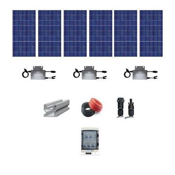 Picture of 1.36 kW Solar system On Grid No Batteries