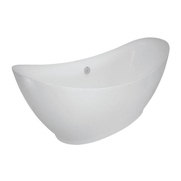 Picture of LA ROCHELLE Luxurious Freestanding  acrylic bath  1730 x 800 x 800 mm H