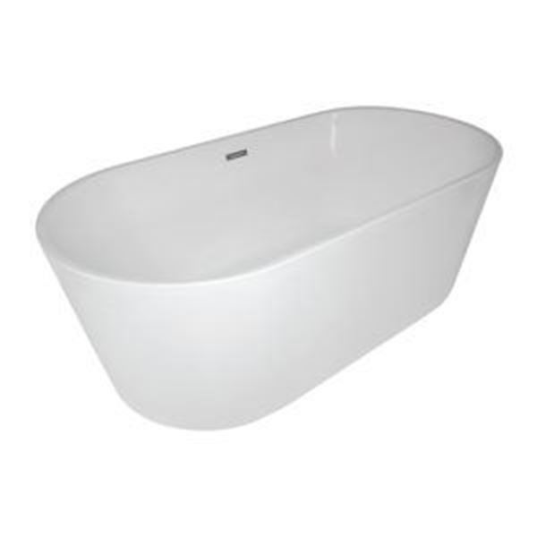Picture of Bijiou Chateau Luxurious Freestanding  acrylic bath 1720 x 820 x 600 mm H