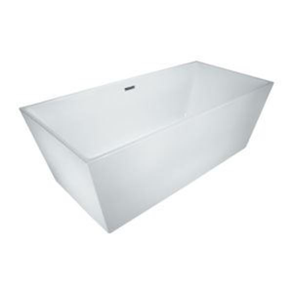 Picture of Bijiou Mont Michel Luxurious Freestanding acrylic bath 1700 x 800 x 600 mm H