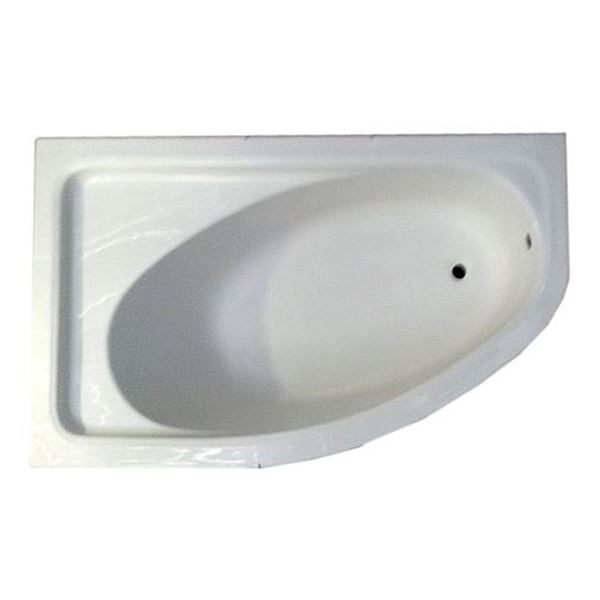 Picture of L/R SELINA  D shape Acrylic  bath , left of Right side, 1600 x900 x430 mm SA