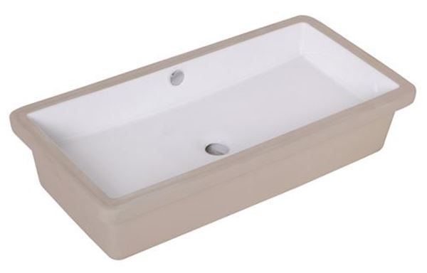 Picture of Bijiou Peluche large underslung basin 710 x 345 x 145mm