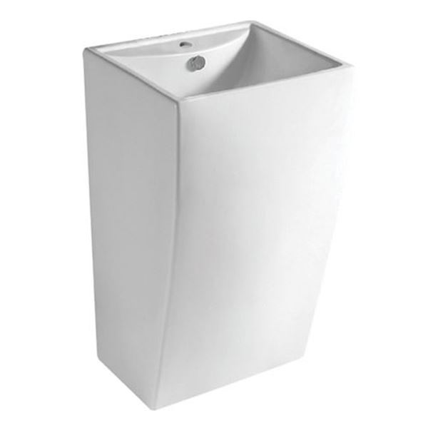 Picture of Sienna freestanding TALL basin square style