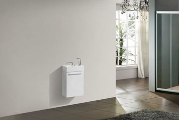 Picture of Tito Small Bathroom Cabinet 400 mm L, 1 door with BLUM hinges in SALE