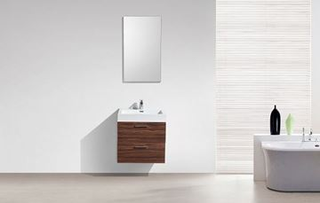 Picture of SALE Trevi WALNUT Bathroom cabinet, 575 mm length, 2 drawers