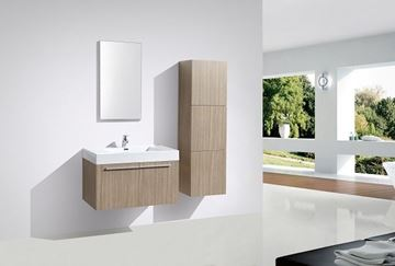Picture of OAK Avella bathroom  cabinet / vanity 900 mm length, 2 doors