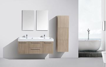 Picture of Novelli OAK Double Bathroom Cabinet  with 2 doors and 2 drawers