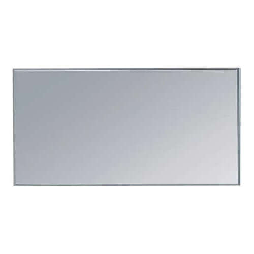 Mirror with aluminium frame 5mm glass 1200 x 20 mm x 400 mm. Mounted ...