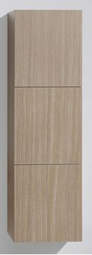 Picture of OAK TALL Side Cabinet with 3 soft closing doors, 1500 H x 450 L x 300 D