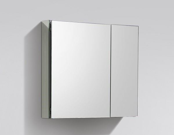 Picture of Luxurious 750 mm L Mirror Bathroom cabinet / Medicine cabinet, 2 doors and 2 shelves