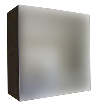 Picture of CLEARANCE  Medicine cabinet / Mirror cabinet with 1 door and 1 shelf, 400 X 400