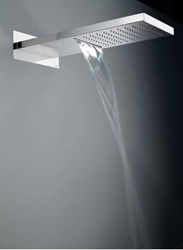 Picture of Luxurious 500 mm long Stainless Steel double function shower head with waterfall