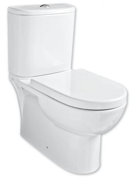 Picture of Edge top flush close couple toilet suite