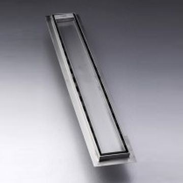 Picture of 500 mm long Stainless Steel shower channel with solid grid