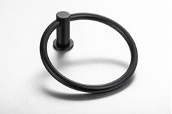Picture of Black Demola Towel Ring