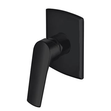 Picture of Magnetite BLACK Matte Concealed SHOWER and BATH mixer