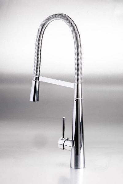 Picture of Torino Spring pull out Kitchen Sink mixer with 2 functions