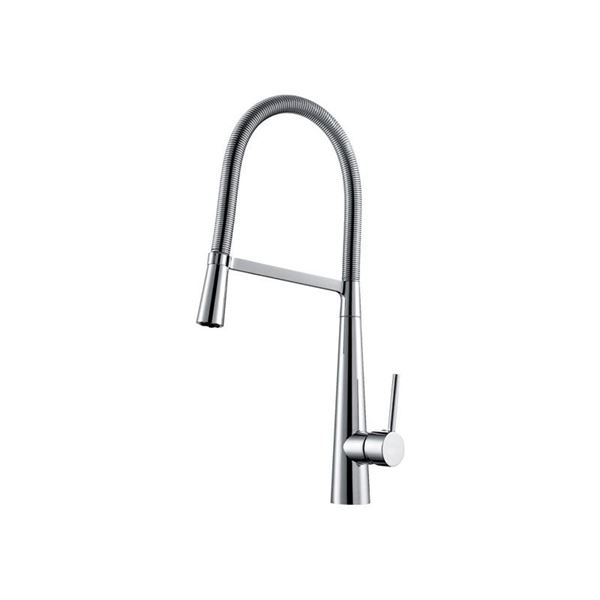 Picture of BIJIOU MEUSE pull out kitchen Sink mixer with Stainless Steel spring hose
