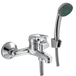 Picture of Amber BATH mixer SET with hand shower