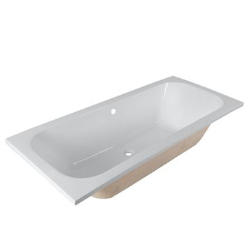 Picture of Quality Rectangular acrylic bath, 1800 x 800 with 5 years warranty