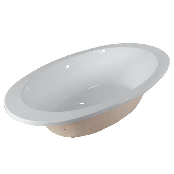 Picture of Large OVAL acrylic BATH  1800 x 960 mm