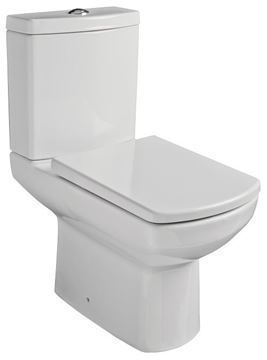 Picture of Gural Vit Nero top flush close couple toilet suite