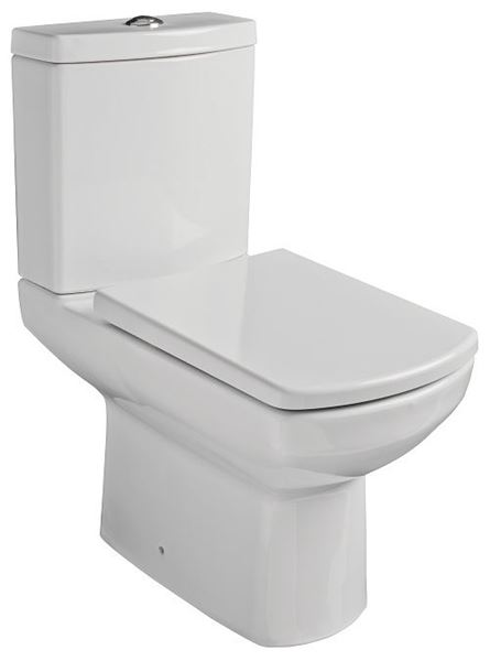 Picture of Gural Vit Nero top flush close couple toilet suite