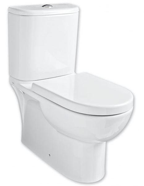 Picture of Gural Vit Edge top flush close couple toilet suite